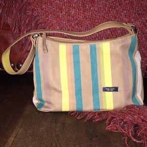 Kate Spade New York shoulder bag tan/teal/yellow